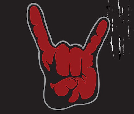 Metal Hand Sign