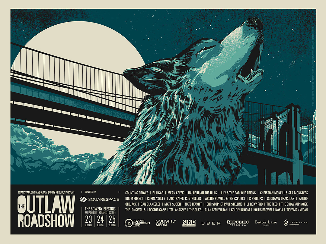 The Longwalls play The Outlaw Roadshow 10/25/14