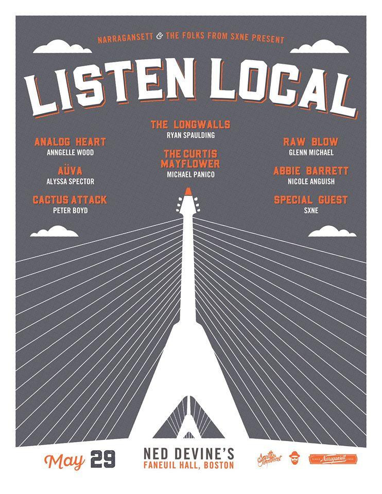 The Longwalls - Listen Local 2016
